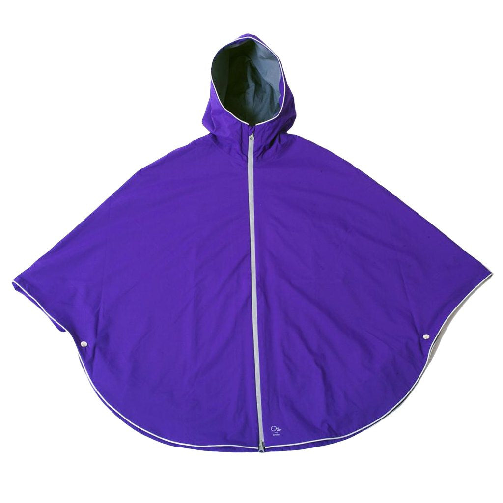 Otto London - Urban Poncho - Purple