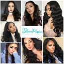 Chloe - Body Wave Glueless Full Lace Human Hair Wig For Women Brazilian Remy Human Hair Pre Plucked With Natural Baby Hair Slove Rosa