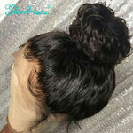 Liza - Peruvian Water Wave Lace Front Human Hair Wigs Remy Full End With Baby Hair Pre-Plucked Knots And Bleached Knots Slove Rosa