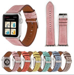 APPLE - Leather Watch Band for Apple Watch Series 1 / 2 / 3