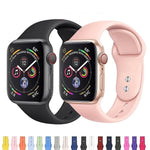 APPLE - Sports Band For Apple Watch Series 1, 2, 3, 4 -  42mm/ 38mm/ 44mm/40mm