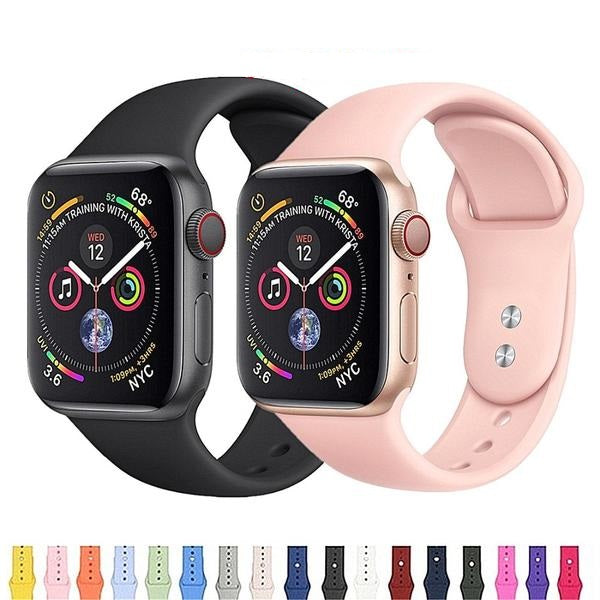 APPLE - Sports Band For Apple Watch Series 4, 3, 2, 1 -  42mm/ 38mm/ 44mm/40mm