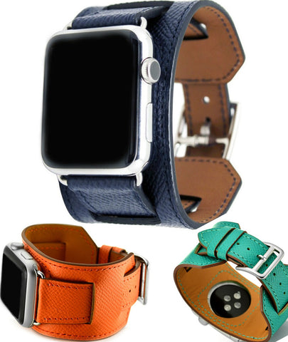 Genuine leather Cuff for Apple Watch series 1 2