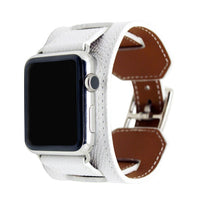 APPLE - Genuine Leather Cuff for Apple Watch series 1 2 3