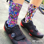 Colored Printing Sport Socks - Cycling/ Hiking/ Running