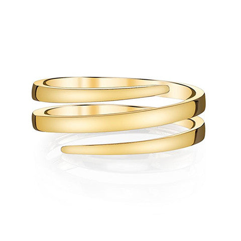 Gold Coil Ring