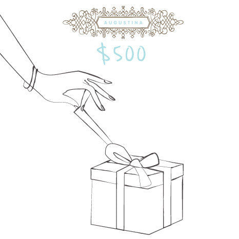 Augustina Boutiques $500 Digital Gift Card