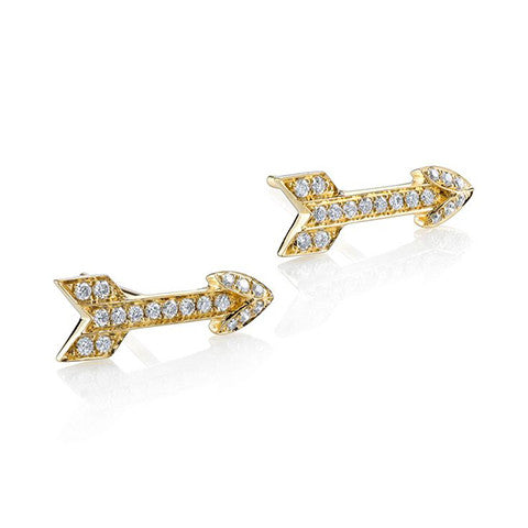 Diamond Arrow Earring
