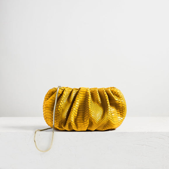 Large Bubble Clutch Python Buttercup