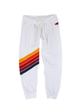 Cross Stripe Womens Sweatpant