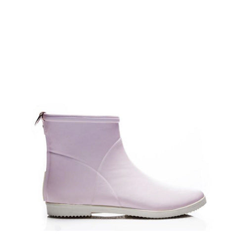 Rubber Ankle Boots - Pink