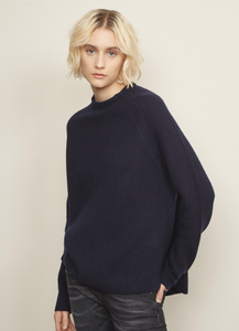 Raglan Funnel Neck