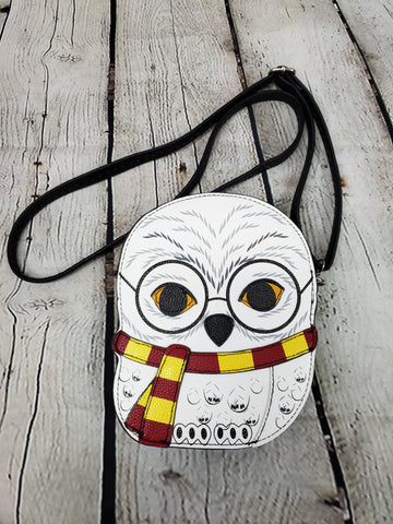 Snow Owl Crossbody Bag