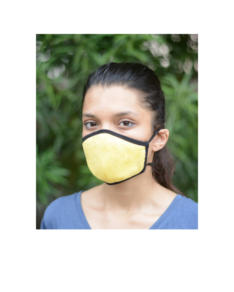 Reusable Mask with 3 Colors and Long Loop (Pack of 3)