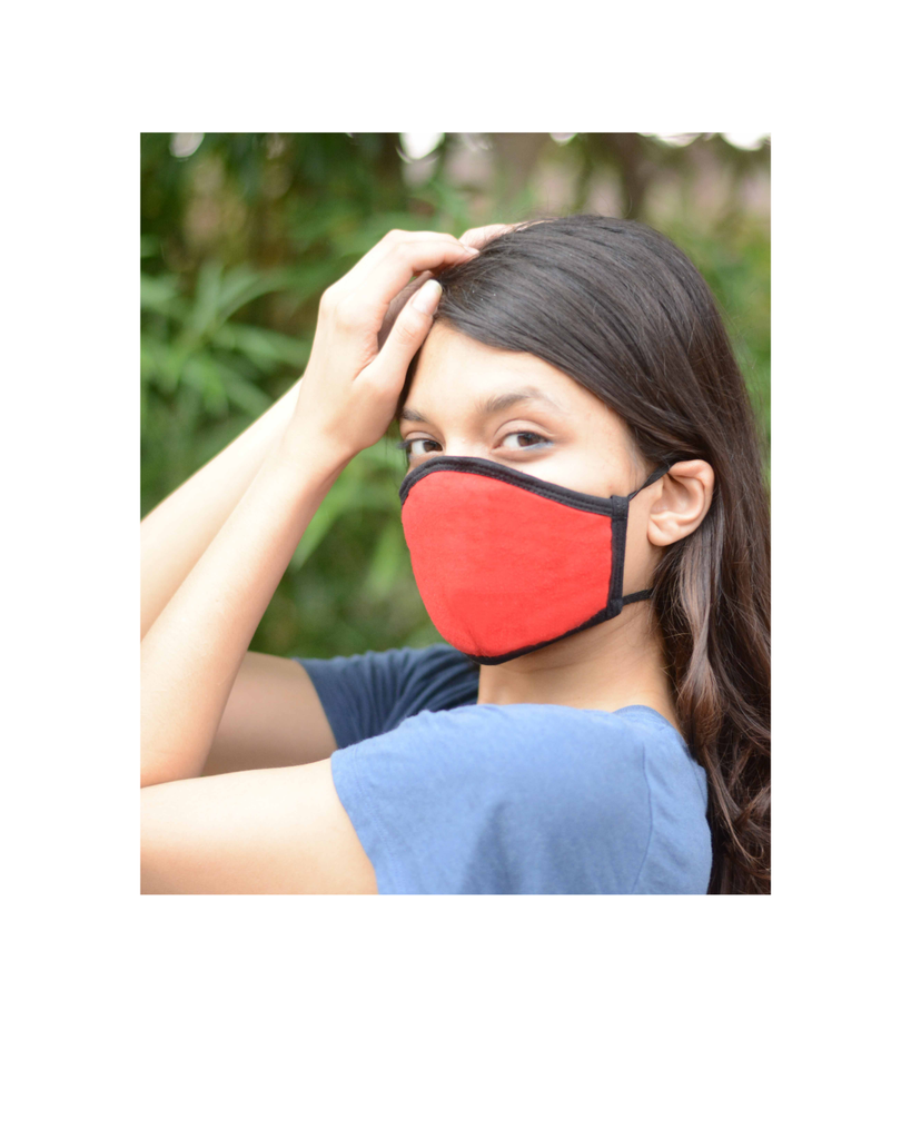 Best Anti Pollution Mask Online with Long Loop (Pack of 3)