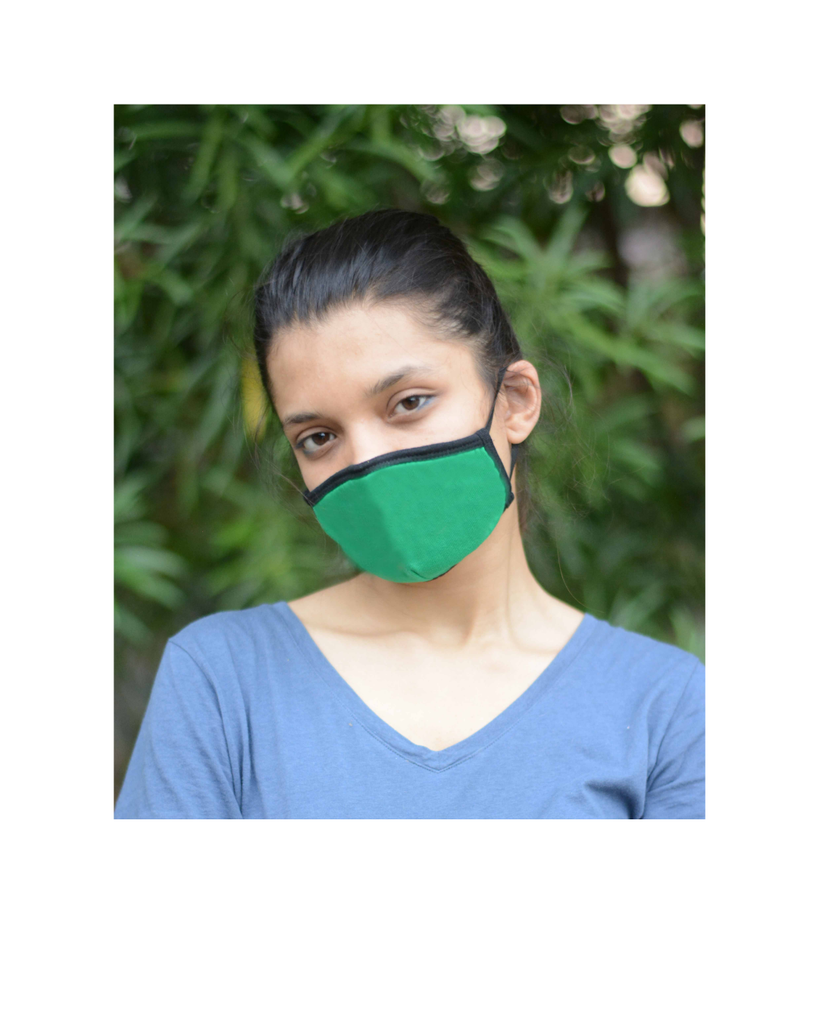 Uno Anti Pollution Mask With Earloop (Pack of 3)