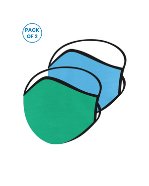 KIDS - FACE PROTECTOR WITH LONG LOOP (Pack of 2)