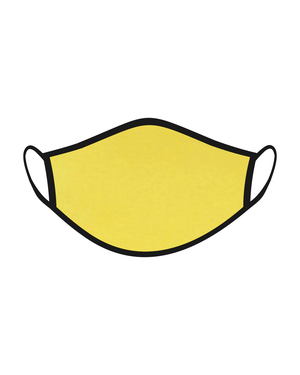 Reusable Mask for Men, Women and Kids: Yellow Color