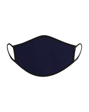 The One Mask Certified Reusable Washable Protective Face Mask for Men Women and Kids - Navy Blue Colour