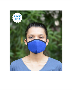Anti Pollution Mask with Earloop (Pack of 2) for Adults