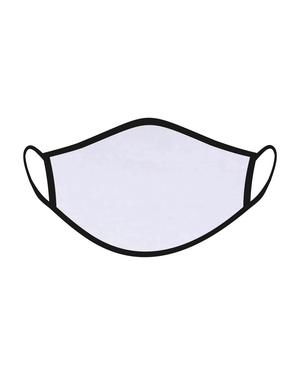 The One Mask Certified Reusable Washable Protective Face Mask for Men Women and Kids - White Colour