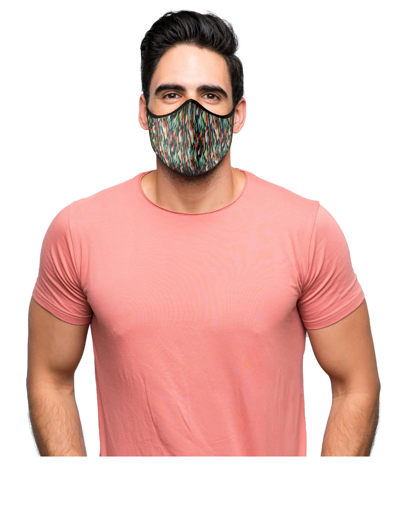 Buy Veeva Tigris Comfortable Cloth Mask Online in India