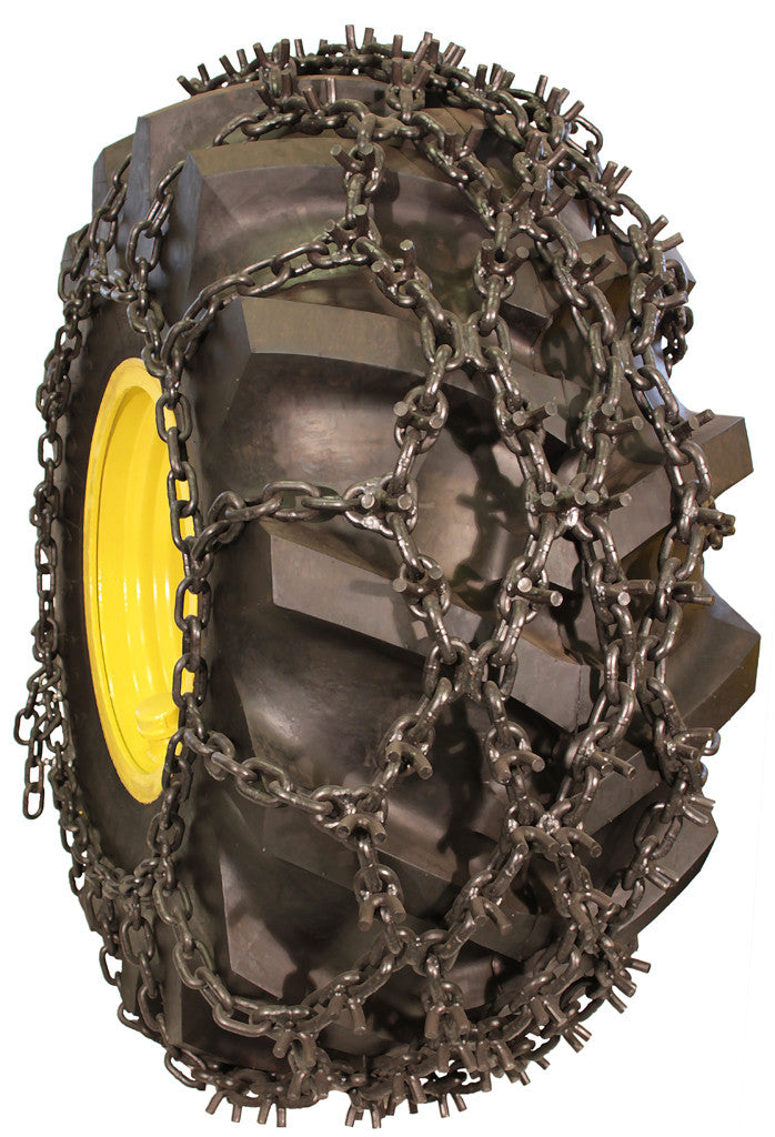 18 4 34 9 16 Double Net Skidder Chain Tire Chains By