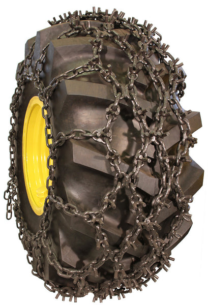 28l 26 9 16 Double Net Skidder Chain Tire Chains By