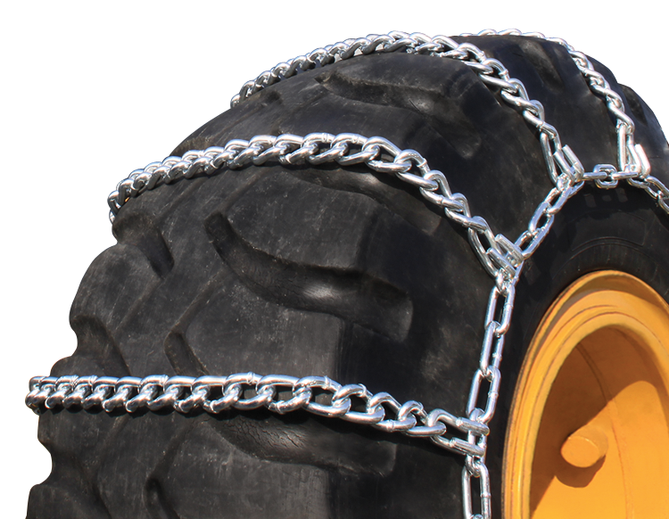 555/70-25 Grader/Loader Tire Chain Highway