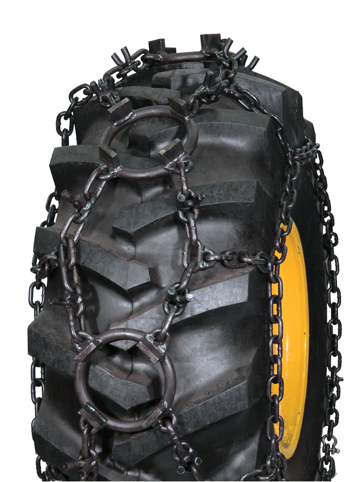 18.4-26 5/8 Combo Chain Studded Ring Chain