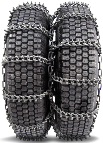 13/70-22.5 NordChain 8mm Studded Triple Truck Tire Chain, Cam