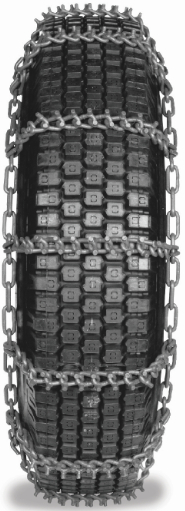 13/80-20 NordChain 8mm Studded Single Truck Tire Chain, Non Cam