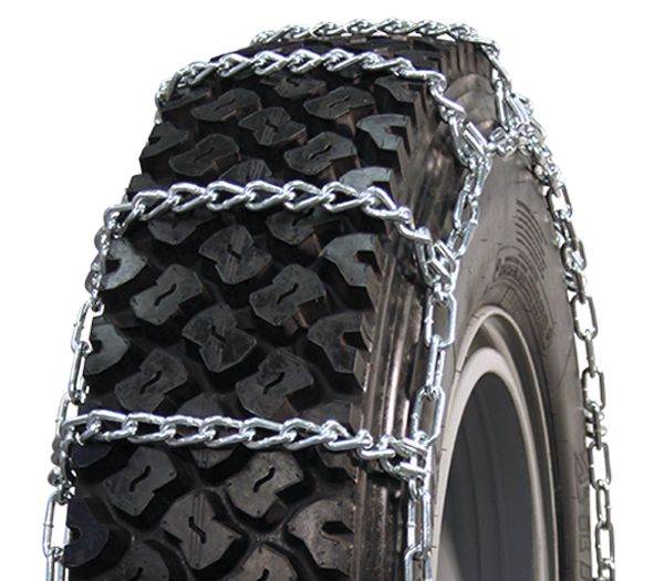 32x11.50-15 Wide Base Single Tire Chain CAM