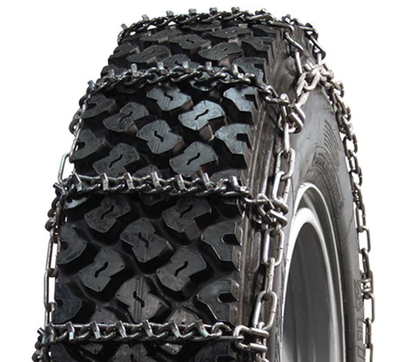 10.5/80-18 Wide Base V-Bar Single Tire Chain