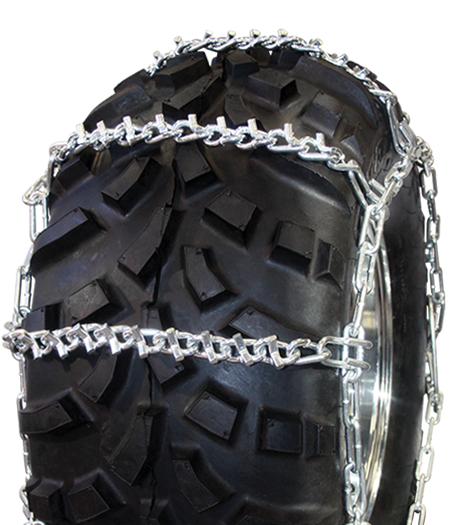 24x8.00-12 4-Link V-Bar Reinforced ATV Tire Chains