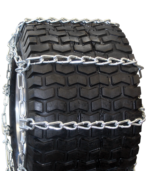 24x8.50-12 4-Link Twist Link Lawn and Garden Tire Chain