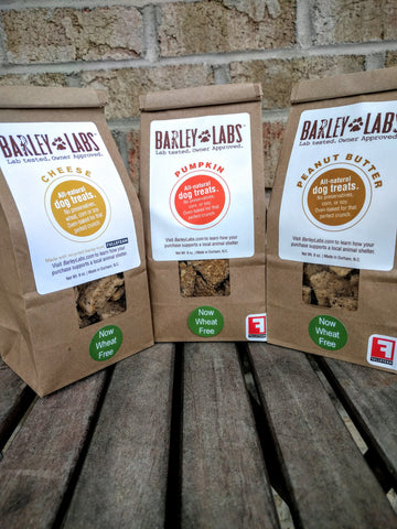 wheat free beer grain dog treats barley labs
