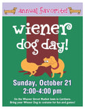 Barley Labs Dog Treats - Weiner Dog Day