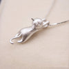 Image of 925 Sterling Silver  Cats  Necklaces Jewelry
