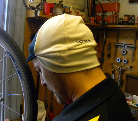 Soma Winter Cap Black/Eggshell