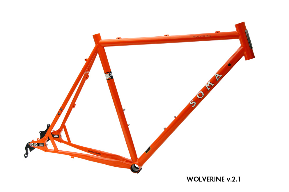 Soma Wolverine Frame (fork not included)