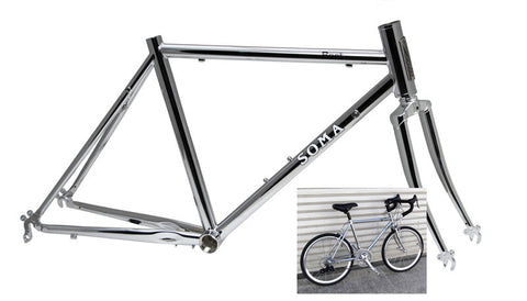SOMA Bart Kid's Frame Set - Chrome