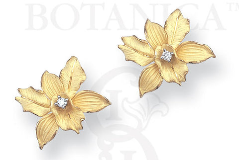 Ports of Paradise Orchid Earrings