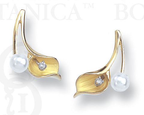 Curvy Callalily Earrings