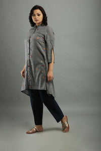 Chambray Grey Tunic