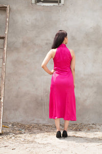 Fuchsia Pink Dress