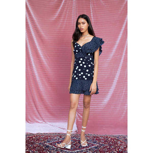 Polka Dot Short Dress