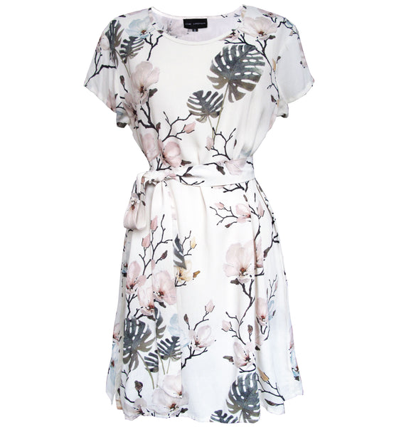 Cajsa Dress - Flower print