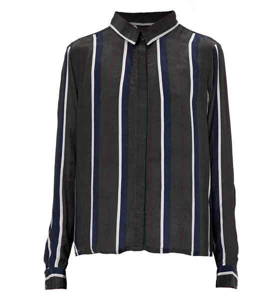 Callie Shirt - Stripe print
