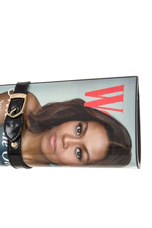 "First Lady Michelle Obama ""W"" Magazine Cover Clutch"